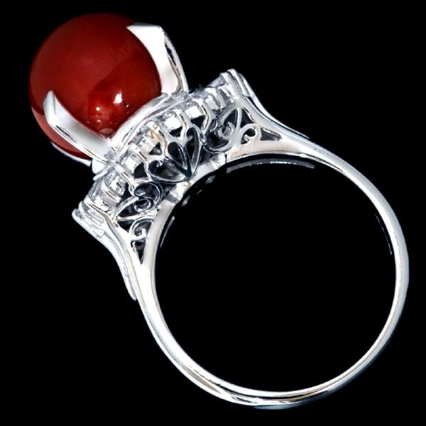 赤珊瑚の指輪を買取