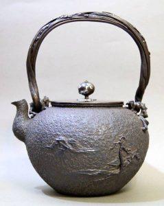 波多野正平作の鉄瓶