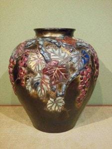 七宝焼花瓶