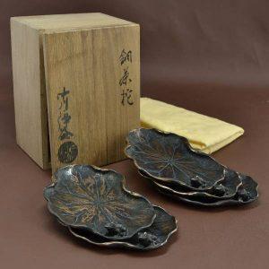 中川浄益銅製茶托