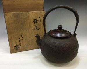 角谷一圭の鉄瓶