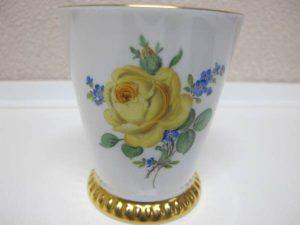 マイセン-黄色のバラ