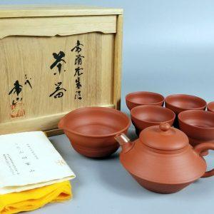 三代山田常山 常滑焼 茶器