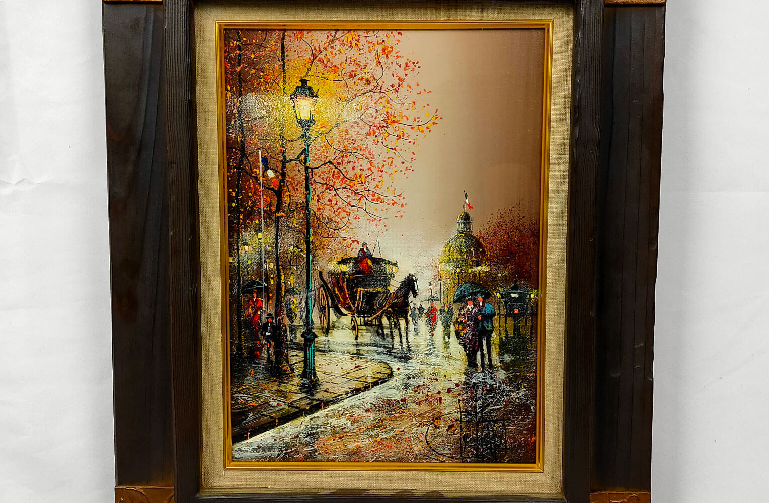 ギィ・デサップ 「パリ、雨降るアンヴァリッド」4号
