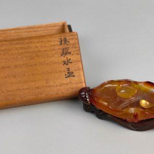 中国美術「瑪瑙水盂」書道具 商品画像