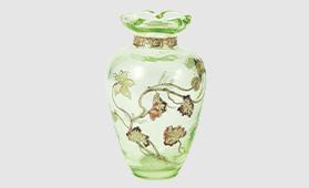 エミール・ガレ 蜻蛉と花文花瓶