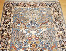ペルシャ絨毯 クム産 シルク・ウール