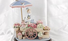 リヤドロ「公園通りの花屋さん」