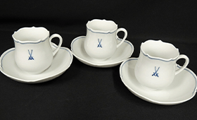 コーヒーカップ&ソーサー 3客