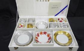 大倉陶園デミタス碗皿コレクション 加山又造
