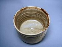 黄瀬戸 筒茶碗