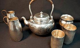 銀製品 茶道具