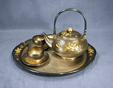 銀製 茶道具セット