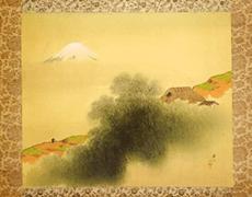 平井楳仙 青緑山水図