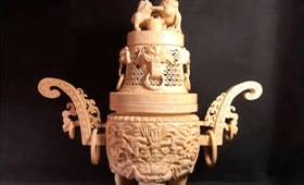 象牙 香炉
