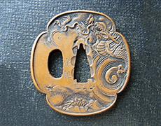 銅鍔 銘:安親