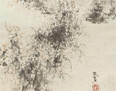 松林桂月作 掛軸