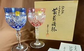 カガミクリスタル ワイングラス