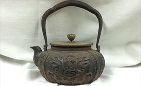 龍文堂 鉄瓶