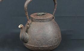 『無疵保証福印』 時代鉄瓶