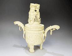 象牙彫刻/大香炉