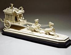 象牙彫刻/皇帝馬車