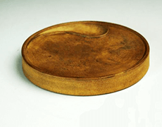 紫砂 陶硯(古硯)