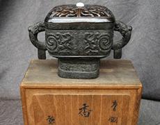 青銅 香炉