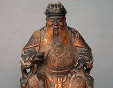 中国 木彫 彫刻