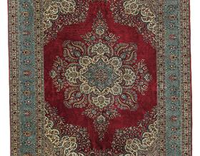 ヘレケ産ペルシャ絨毯