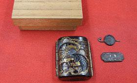 四段 金物パーツ 桐箱