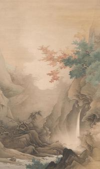 橋本雅邦絵画