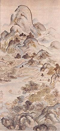 池大雅絵画