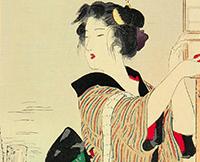 鏑木清方絵画