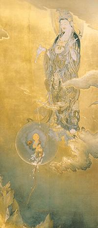 狩野芳崖絵画