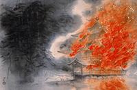 川端龍子絵画