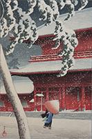 川瀬巴水絵画