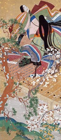 松岡映丘日本画