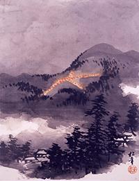 鈴木松年絵画