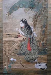 寺崎広業絵画