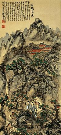 富岡鉄斎絵画