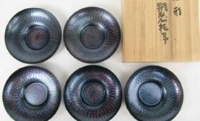 玉川堂 丸形 銅製
