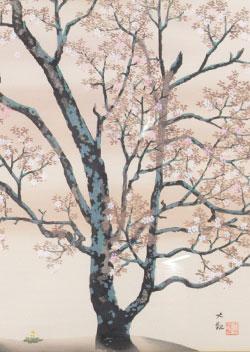 日本画掛軸