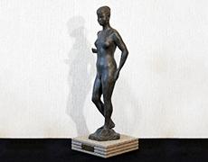 蛭田二郎 裸婦 ブロンズ像