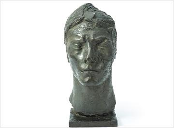 エミール=アントワーヌ・ブールデル「アポロンのマスク」