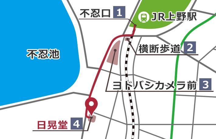 JR山手線上野駅