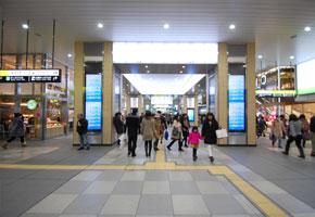 JR天王寺駅の北口