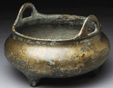 中国骨董 古銅 香炉