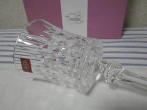 クリスタルダルクのワイングラス