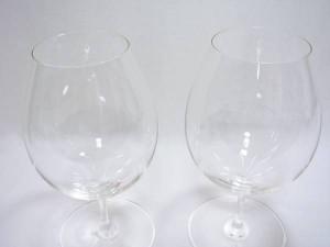 バレリーナシリーズのワイングラスペア